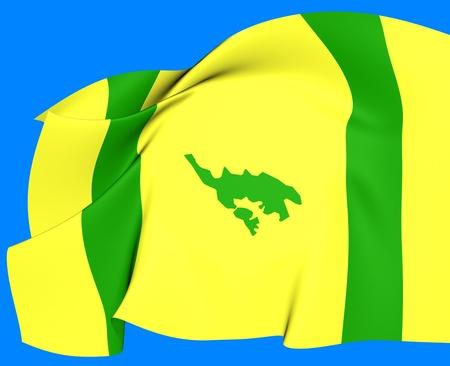 Flag of Isla Culebra, Puerto Rico