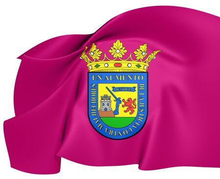 alava: Bandera de Alava, Espa�a. Cerca.
