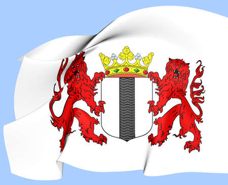 delft: Delft Coat of Arms, Netherlands  Close Up