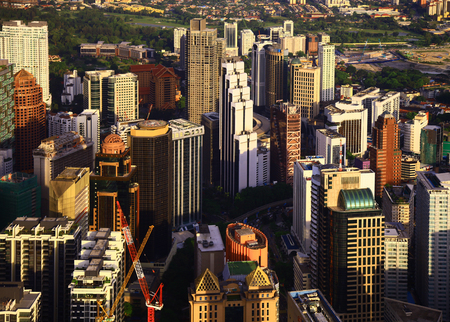 View of the Kuala Lumpur. Day.
