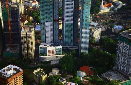 View of the Kuala Lumpur.  photo