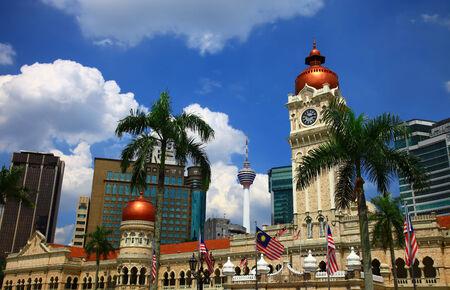 View of the Kuala Lumpur, Malaysia.