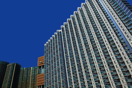 Apartment Buildings in Hong Kong Stock Photo - 26008237