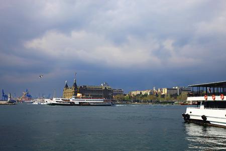 bogazici: View of the Kadikoy, Istanbul  Day