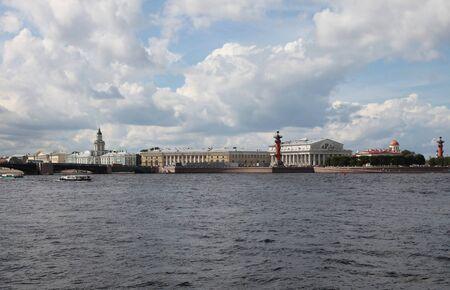 saint petersburg: Old Saint Petersburg Stock Exchange, Saint Petersburg, Russia.