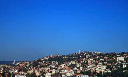 bogazici: View of the Beykoz, Istanbul. Turkey.