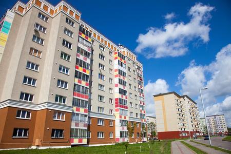 Flat complexes in Kaliningrad (Russia). Stok Fotoğraf