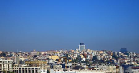 Panorama of the Karakoy district, Istanbul. Turkey. Stok Fotoğraf