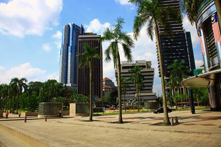 Kuala Lumpur City Center, Malaysia.