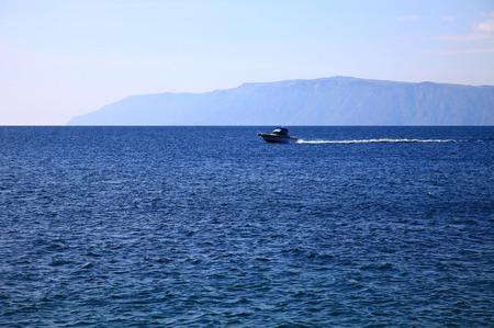 View of the Lake Baikal, autumn. Stok Fotoğraf