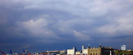 Panorama of the Kadikoy district, Istanbul. Stok Fotoğraf
