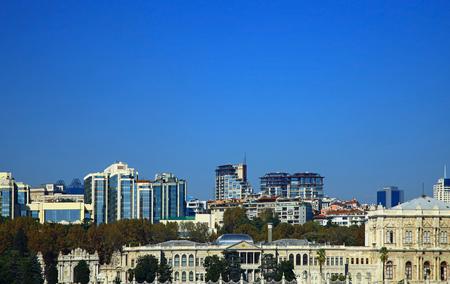 View of the Yildiz (Besiktas). Istanbul, Turkey.