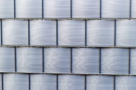 Abstracte achtergrond van een hek Stockfoto