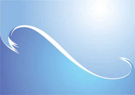 surge: Surge. Sea wave. Vector illustration.
