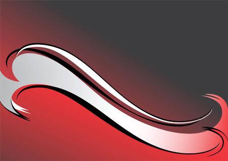 Red-black-grey background. Vector illustration. Stock Vector - 3938839