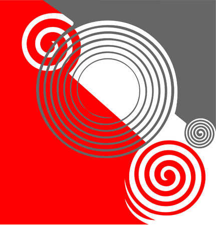 Abstract twirls texture  illustration  Vector
