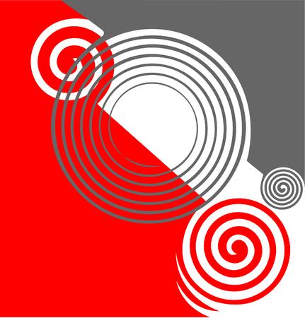 twirls: Abstract twirls texture  illustration  Illustration