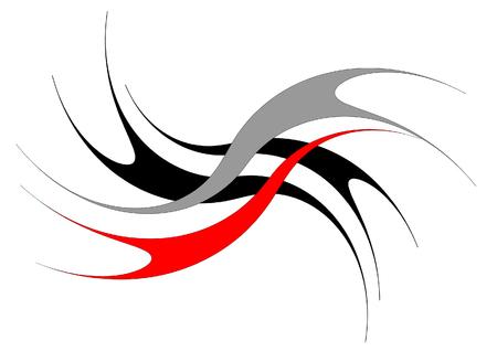 logo vector: Accordant figures  illustration