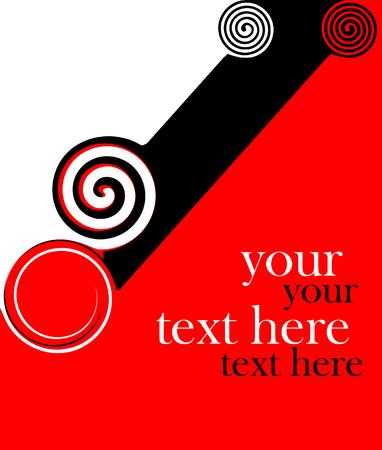 diagonally: Abstract red diagonal background. Vector illustration.