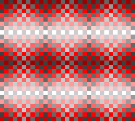 Seamless pattern with checkered design illustration  Vector