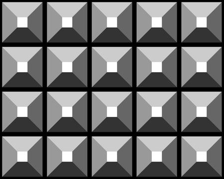 iteration: Seamless pattern grigio sollievo. Vector illustration. Vettoriali