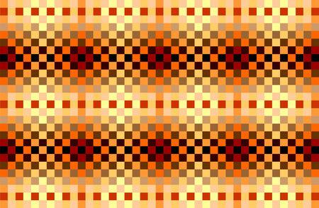 Seamless folk pattern  illustration  Vector