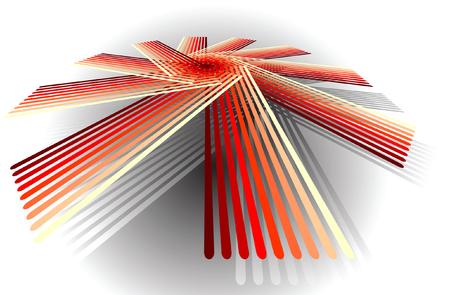 Abstract figure  illustration  Vector