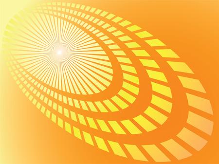 pulsation: Sunny background. Vector. Illustration