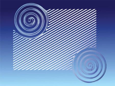 Blue background. Vector. Vector