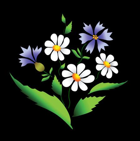 Summer flowers Stock Vector - 4785320
