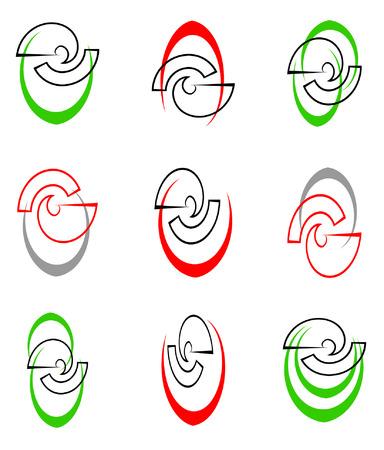 Design elements set. Vector. Stock Vector - 4863617
