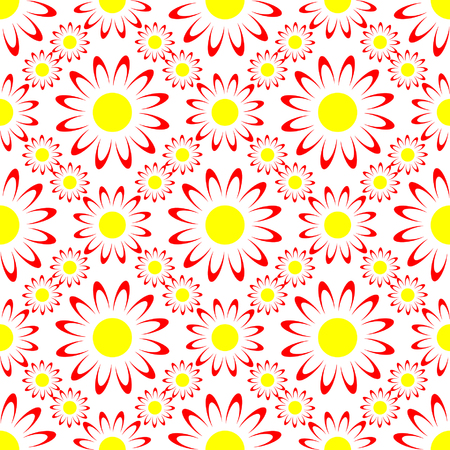 Seamless cheerful pattern. Vector. Vector