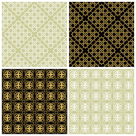 Seamless patterns Stock Vector - 5015798