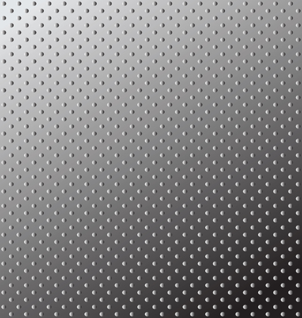 repeat square: Seamless texture  Relief metal surface  editable illustration  Illustration