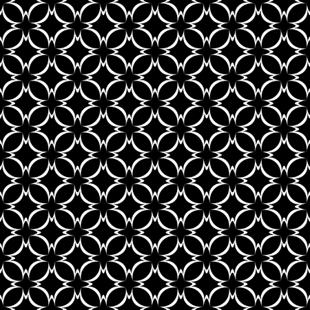Seamless lacy pattern. Vector editable illustration.