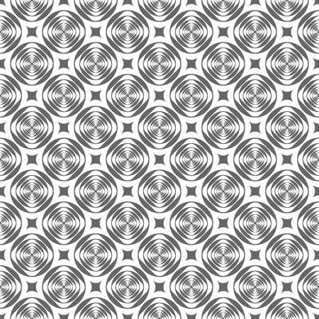 iteration: Seamless modern geometric pattern. Illustration