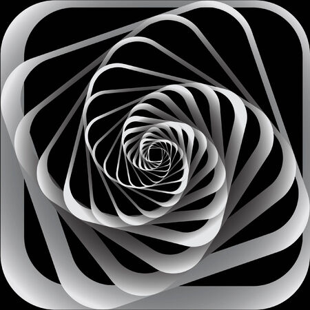 modern art: Spiral motion. Abstract background. illustration.