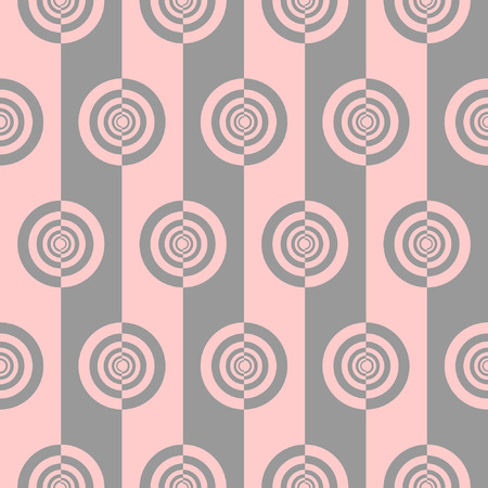a pink cell: Seamless pattern.  illustration.