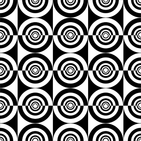 geometric design: Seamless decorative design. illustration. Illustration