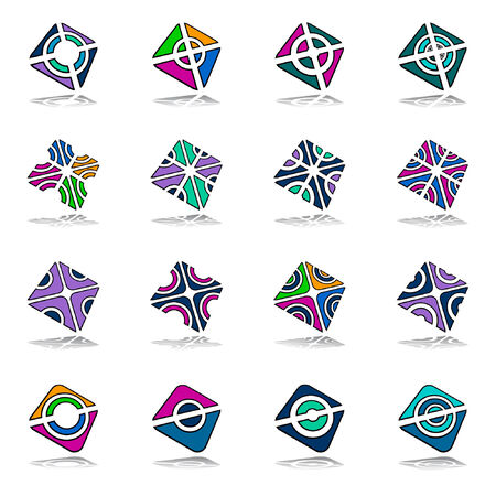 Design elements set Stock Vector - 7972453