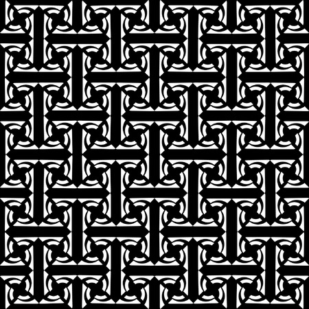 labyrinthine: Seamless decorative labyrinthine pattern. Illustration