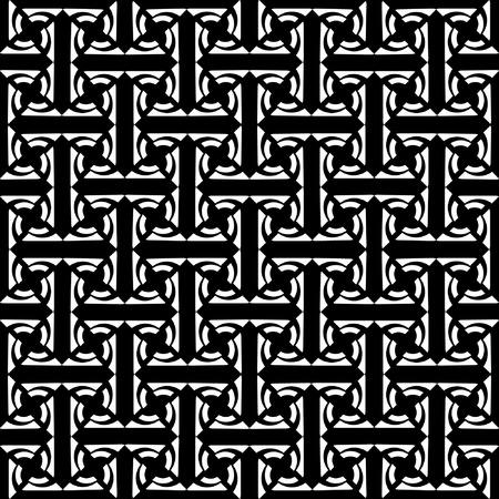 labyrinthine: Seamless decorative labyrinthine pattern. Illustration