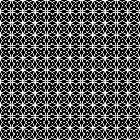 blackandwhite: Seamless op art pattern. Black-and-white abstract texture.