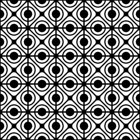 Modèle de treillis géométrique sans soudure.