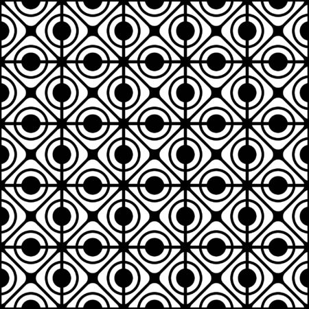 Seamless geometric lattice pattern.  Vector