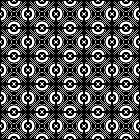 intersect: Seamless checked crisscross pattern. Vector illustration.