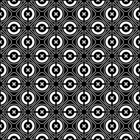 filling line: Seamless checked crisscross pattern. Vector illustration.