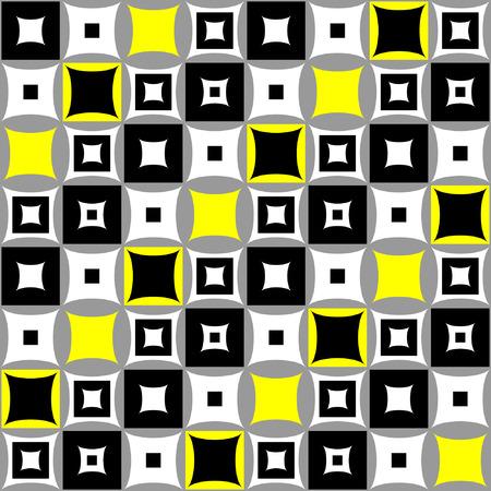 square pattern: Seamless pattern. Stylish graphic design.  illustration.