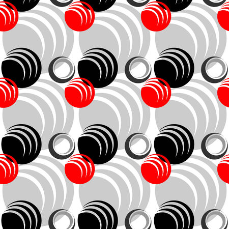 Seamless abstract pattern. Stylish graphic design