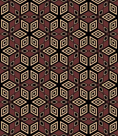 modular: Seamless decorative geometric pattern. illustration.
